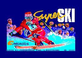 Super Ski per Amstrad CPC