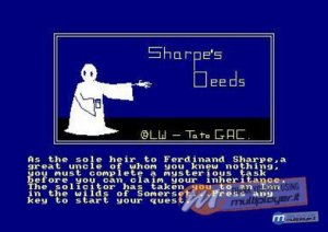 Sharpe's Deeds per Amstrad CPC