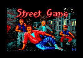 Street Gang per Amstrad CPC