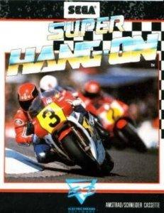 Super Hang-On per Amstrad CPC