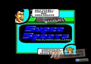 Super Sports per Amstrad CPC