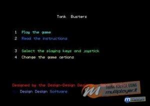 Tank Busters per Amstrad CPC
