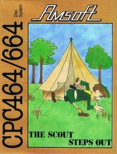 The Scout Steps Out per Amstrad CPC