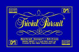 Trivial Pursuit per Amstrad CPC
