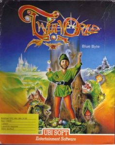 TwinWorld - Land of Vision per Amstrad CPC