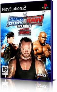 WWE Smackdown! vs Raw 2008 per PlayStation 2