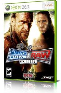 WWE Smackdown! vs Raw 2009 per Xbox 360