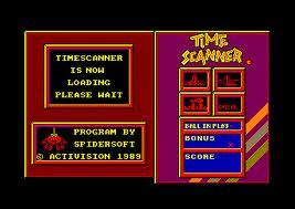 Time Scanner per Amstrad CPC