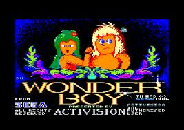 Wonder Boy per Amstrad CPC