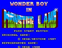 Wonder Boy in Monster Land per Amstrad CPC