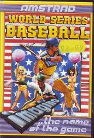 World Series Baseball per Amstrad CPC