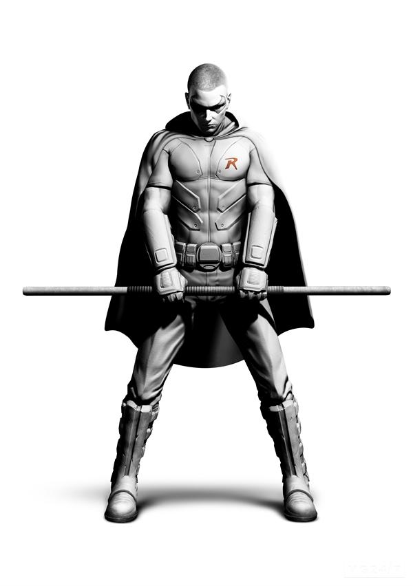 Batman: Arkham City - Prima immagine per Robin