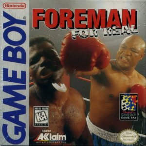 Foreman For Real per Game Boy