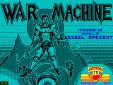 War Machine per Amstrad CPC