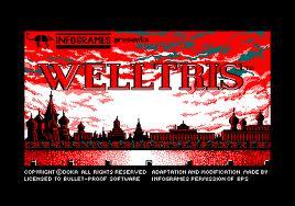 Welltris per Amstrad CPC