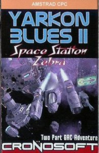 Yarkon Blues II: Space Station Zebra per Amstrad CPC