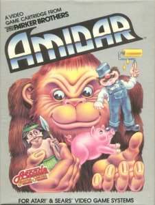 Amidar per Atari 2600