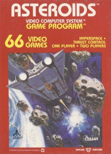 Asteroids per Atari 2600