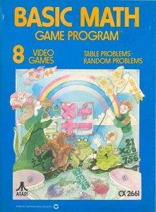 Basic Math per Atari 2600