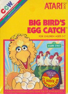 Big Bird's Egg Catch per Atari 2600