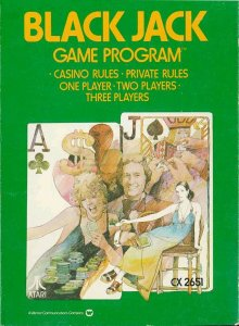 Blackjack per Atari 2600