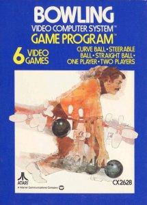 Bowling per Atari 2600