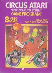 Circus Atari per Atari 2600