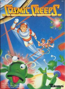 Cosmic Creeps per Atari 2600