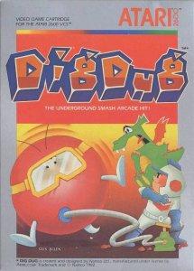 Dig Dug per Atari 2600