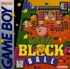 Kirby's Block Ball per Game Boy