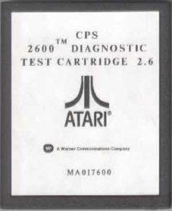 Diagnostic Cartridge per Atari 2600