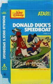 Donald Duck's Speedboat Race per Atari 2600