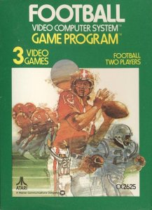 Football per Atari 2600