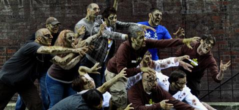 Gli zombi invadono il web (e non solo)