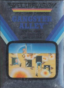 Gangster Alley per Atari 2600