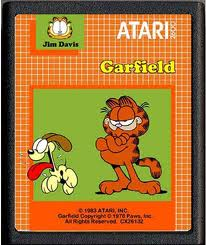 Garfield per Atari 2600