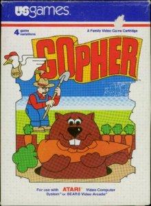 Gopher per Atari 2600