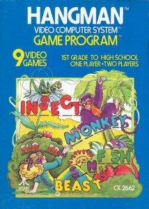 Hangman per Atari 2600