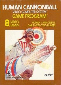 Human Cannonball per Atari 2600