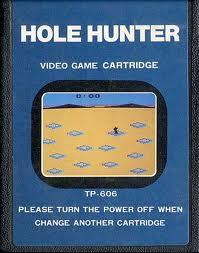Hole Hunter per Atari 2600