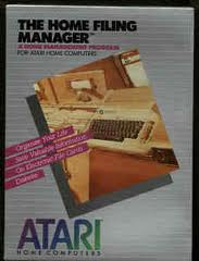 Home Filing Manager per Atari 2600