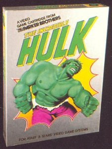 L'Incredibile Hulk per Atari 2600