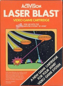 Laser Blast per Atari 2600
