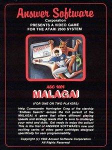 Malagai per Atari 2600