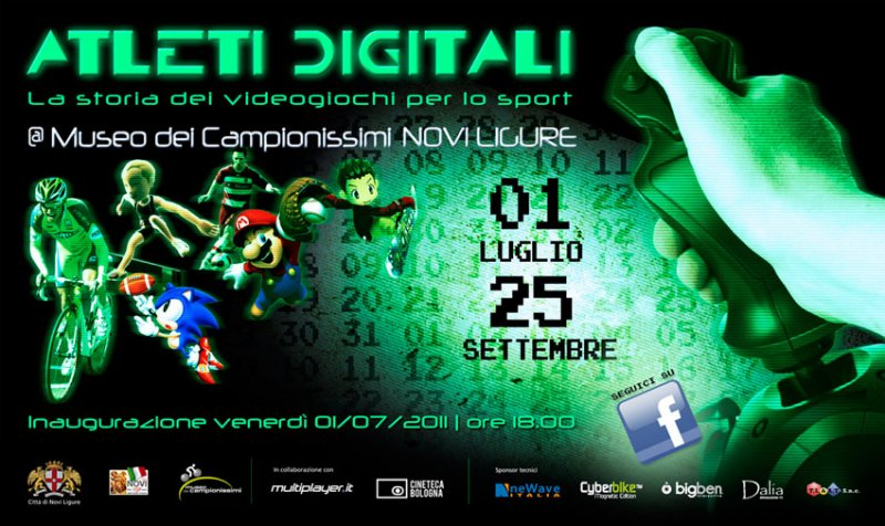 Parte a Novi Ligure la mostra Atleti Digitali