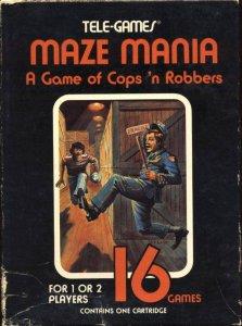 Maze Mania per Atari 2600