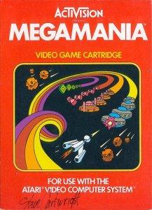 Megamania per Atari 2600