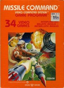 Missile Command per Atari 2600