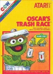 Oscar's Trash Race per Atari 2600