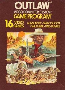 Outlaw per Atari 2600